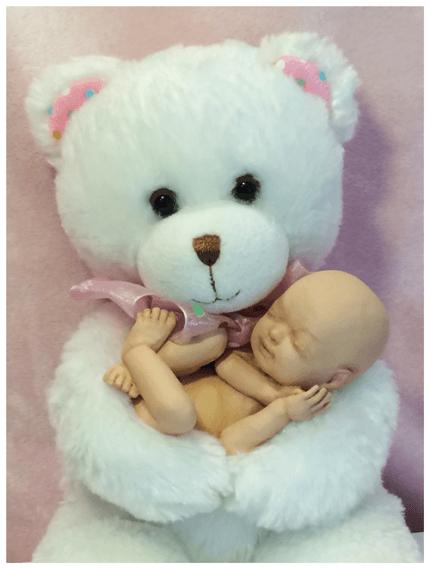 immagine statuina di un feto