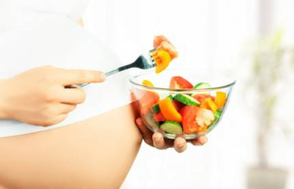 healthy nutrition and pregnancy.