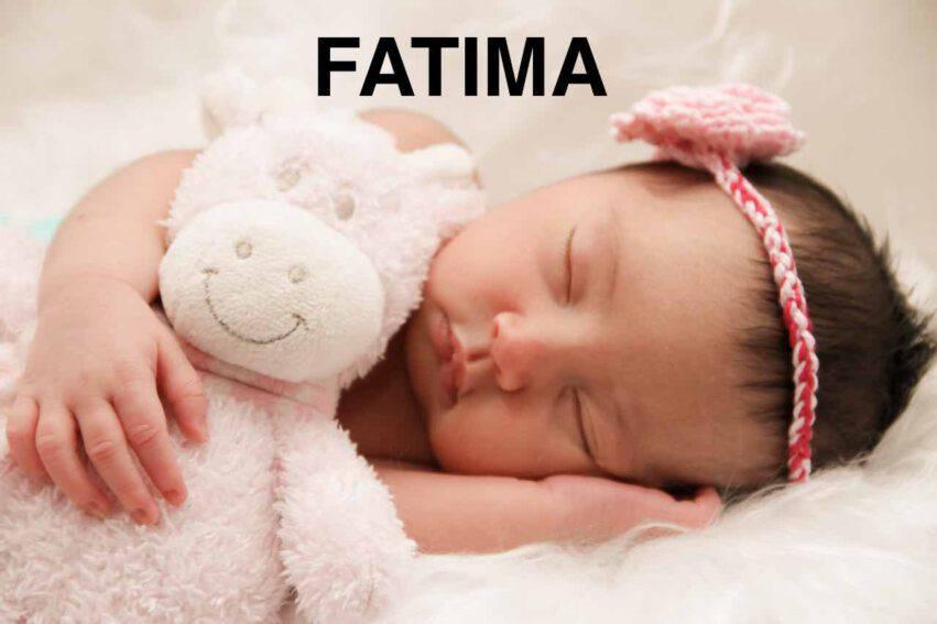 bambina nome fatima