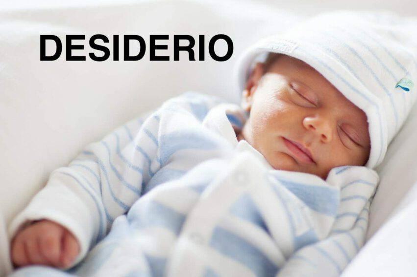 BAMBINO NOME DESIDERIO