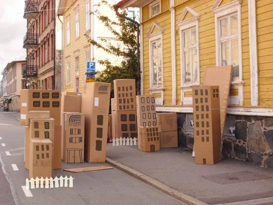 cartone città