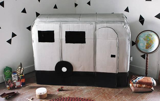 camper cartone