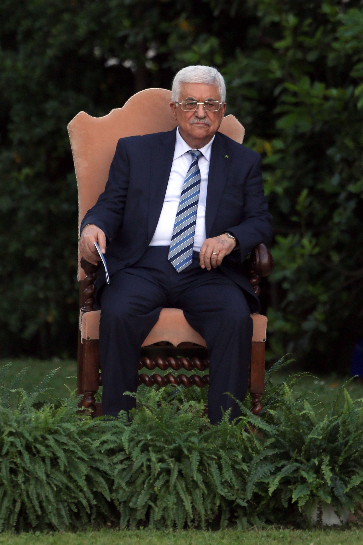 abu mazen all'invocazione per la pace