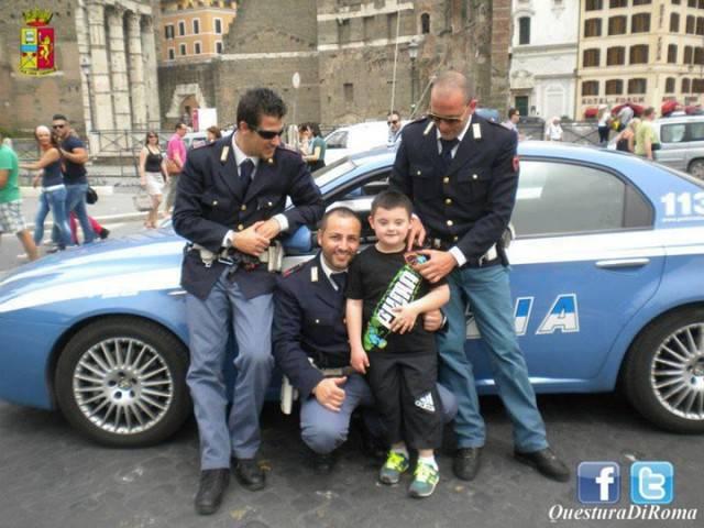 bimbo down coi carabinier
