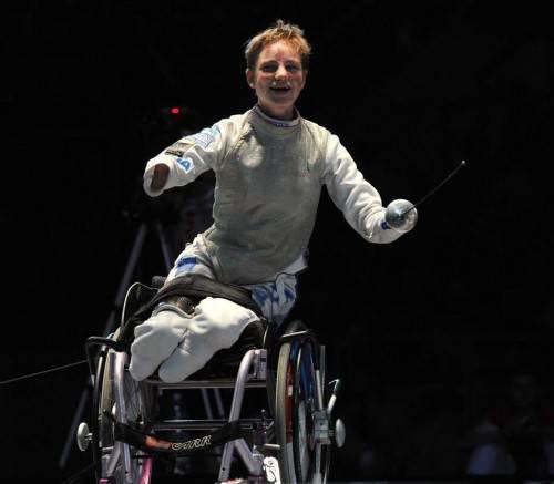 Quando la disabilità non è un limite: la storia di Bebe, campionessa europea di fioretto