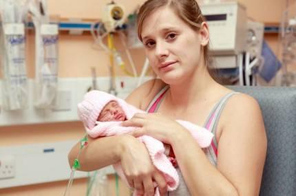 donna con figlia