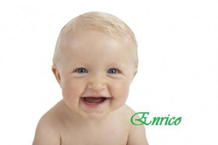 Enrico - Baby smiling face