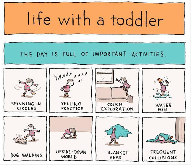 Com'è la vita con un bimbo di 2 anni