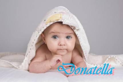 Donatella Baby after bath