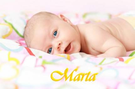 Marta Newborn baby girl