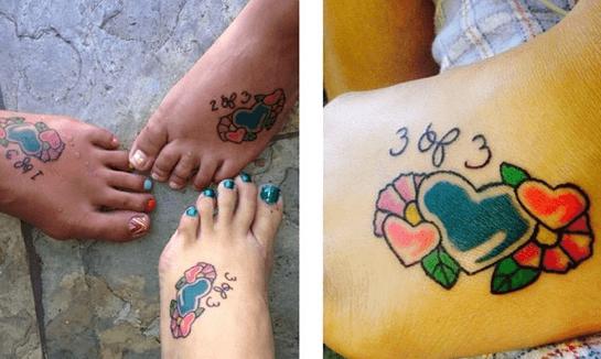 tatuaggi colorati