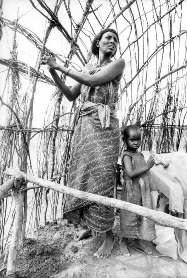 mamma africana e figlia