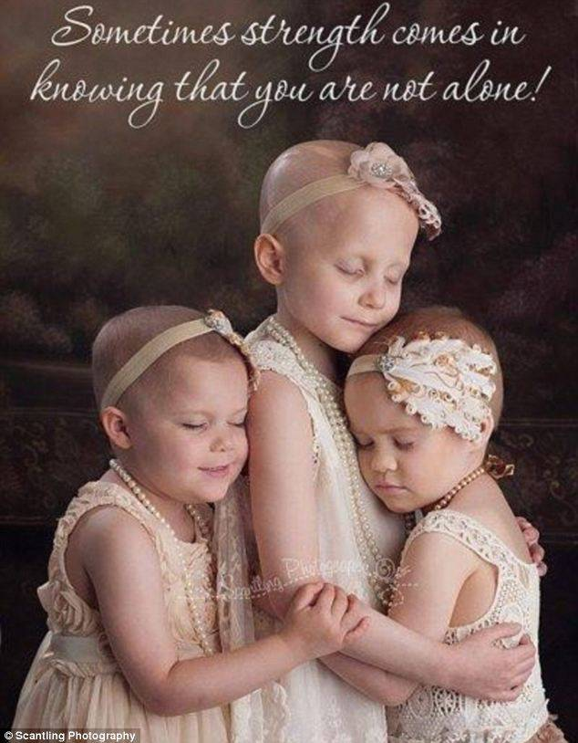 bambine malate di cancro