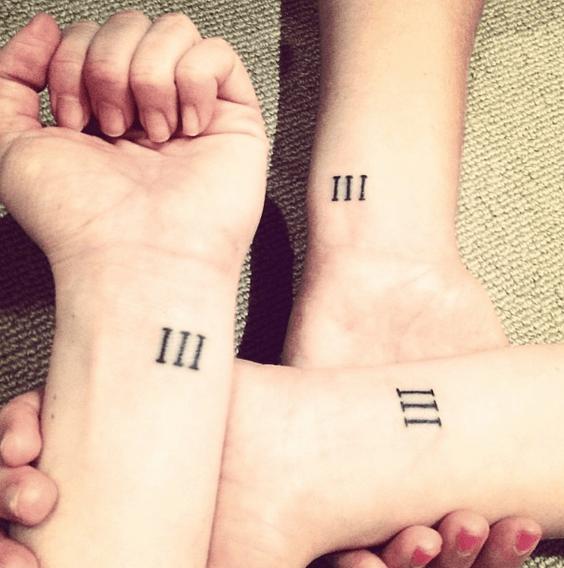tatuaggi numeri