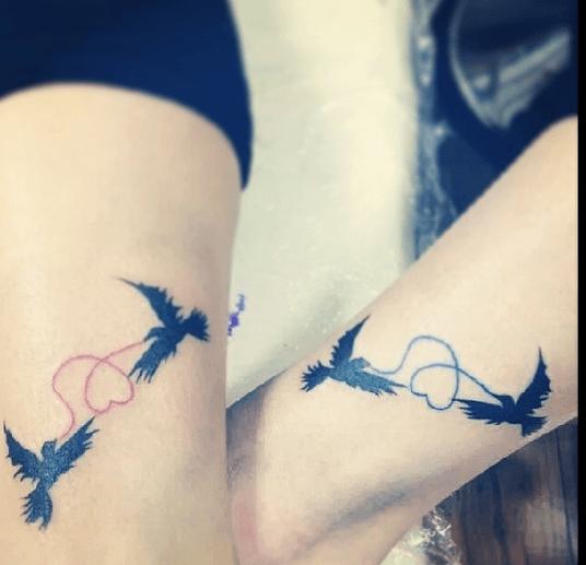 rondini tatuate