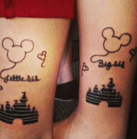 tatuaggio disney