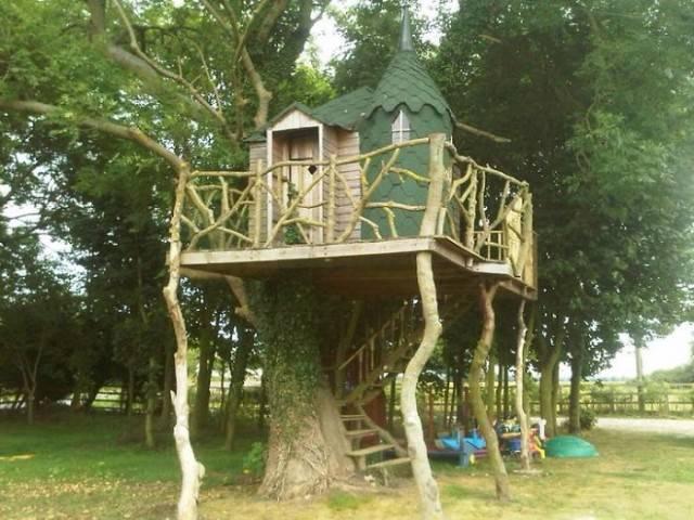 casa delle fiabe sull albero