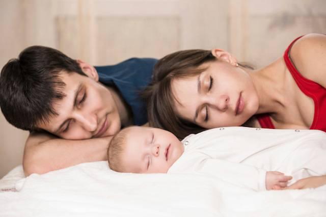 Rischi di dormire con i bambini