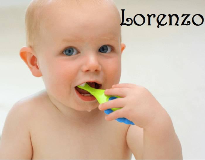 bambino per San Lorenzo