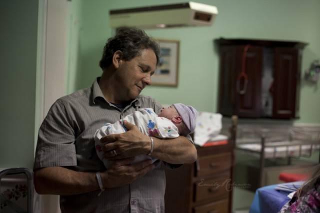 padre e bimba