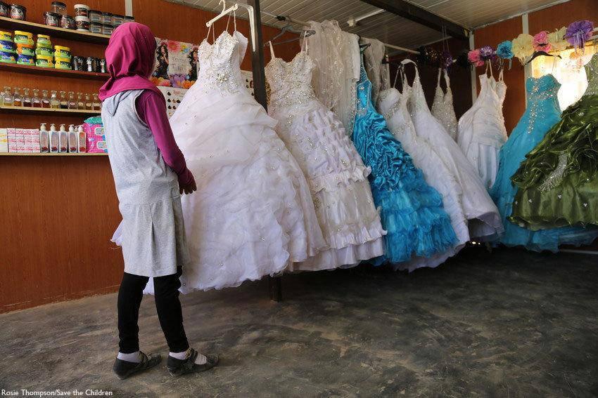 vestiti da sposa per  bambine