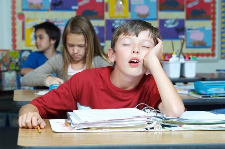 sonno e scuola