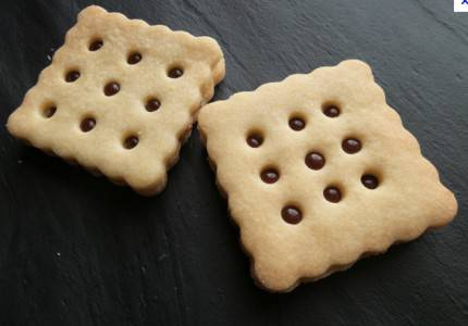 Biscotti baci idee forme