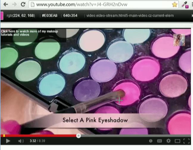 immagini ombretti da cui scegliere il colore