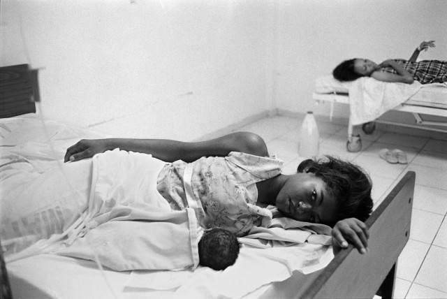 donna partoriente repubblica dominicana