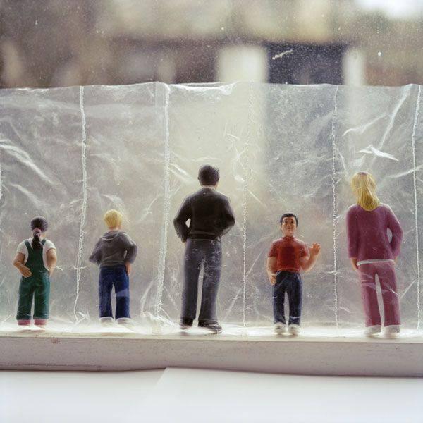 miniature persone plastica
