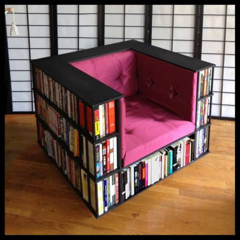 25 poltrona libreria