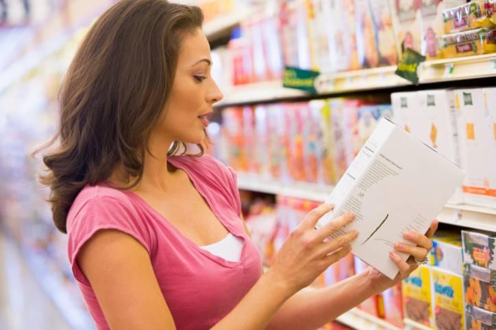 salute e alimentazione etichette