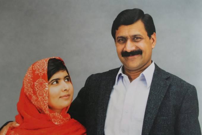 malala yousarfzai e suo padre
