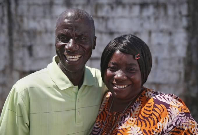 coppia sopravvissuta ebola
