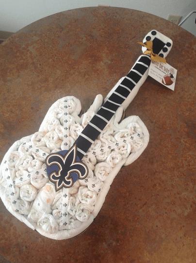 chitarra di pannolini