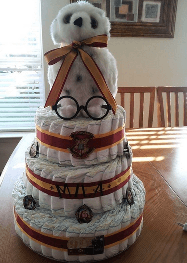 edvige harry potter pannolini