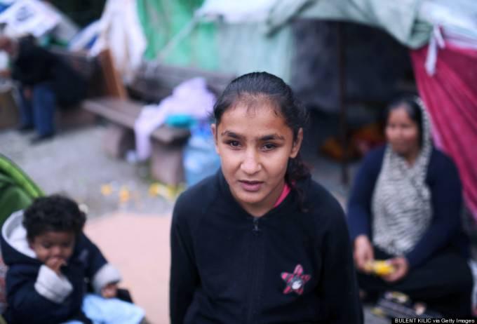 rifugiata siriana bimba