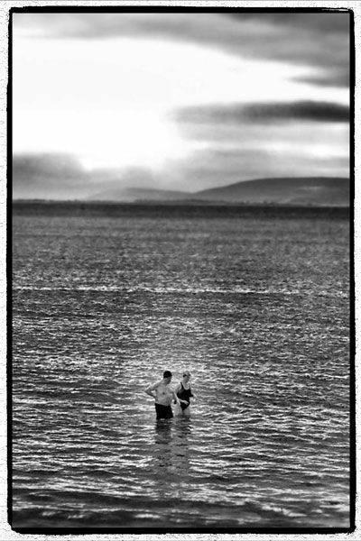 coppia in mare