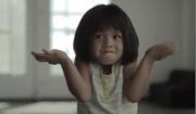bambina che non sa cosa dire