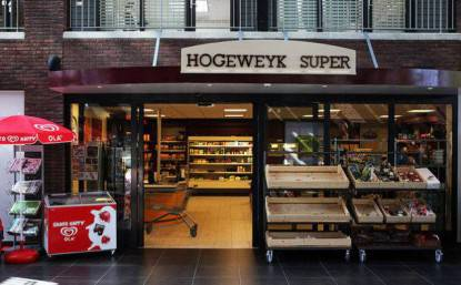 Hogewey village supermercato