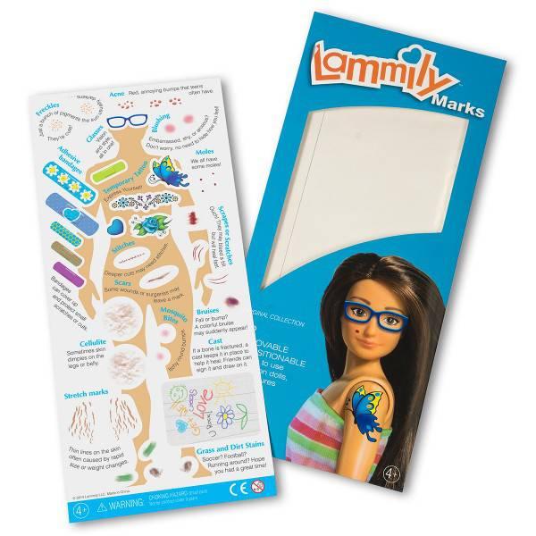 accessorio adesivi di lammily