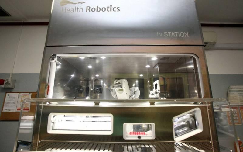 robot neonatologia