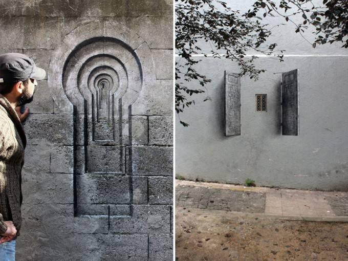 finestre cieche murales