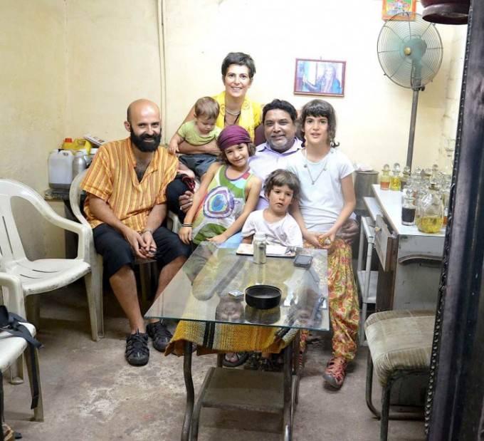 famiglia gangemi in india