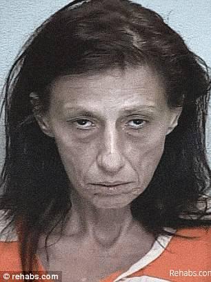 donna dopo anni di droga