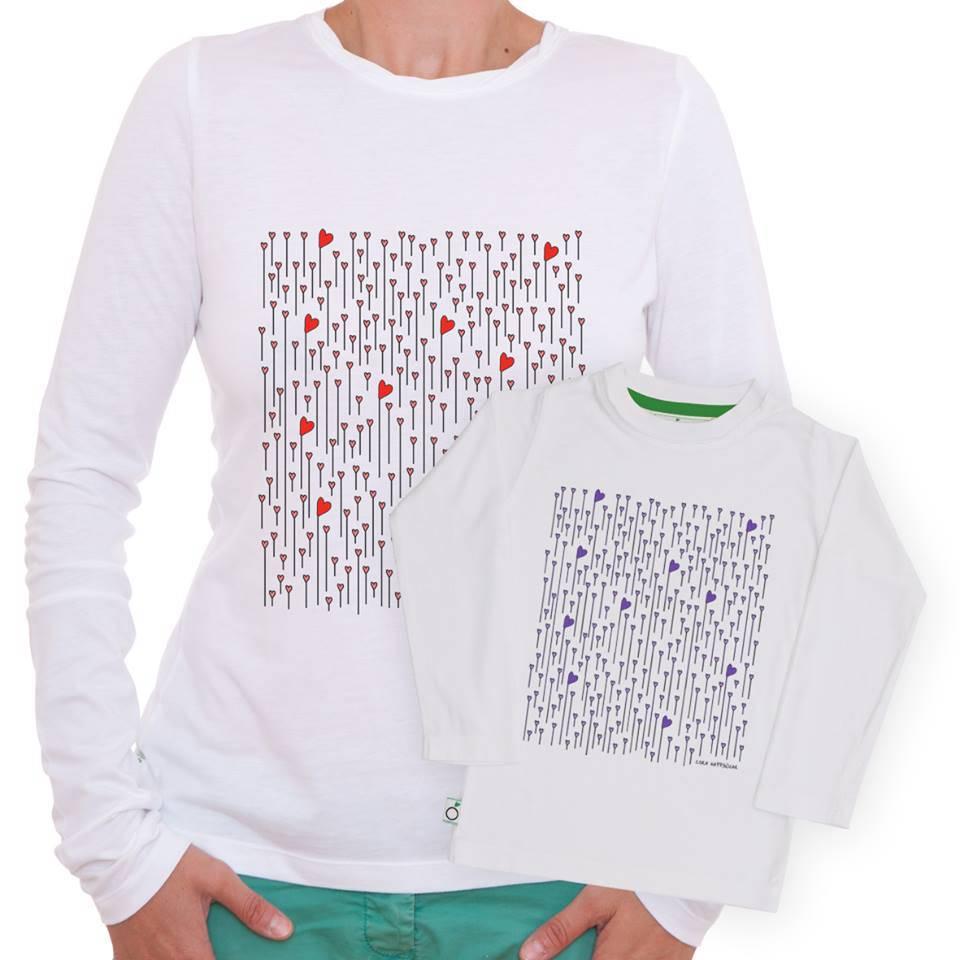 maglietta mamma figlia