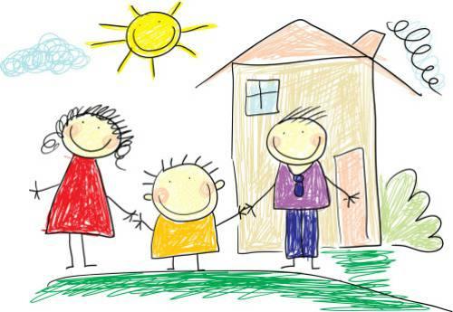 come interpretare i disegni dei bambini per capire se qualcosa non ... - Disegni Case Bambini
