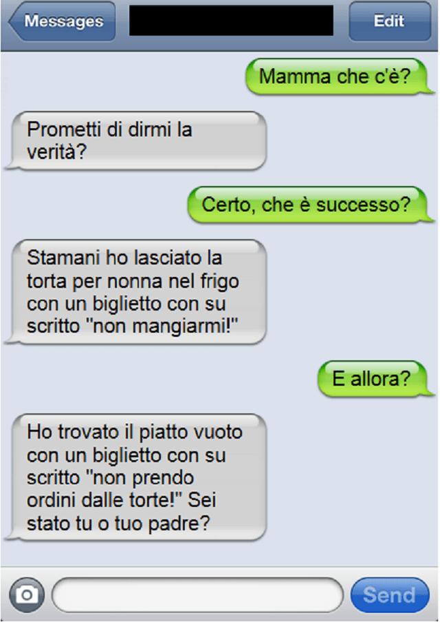 Favorito I 10 sms più divertenti che solo le mamme potevano scrivere : TO78