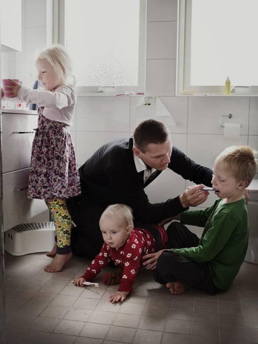 padre cura i figli