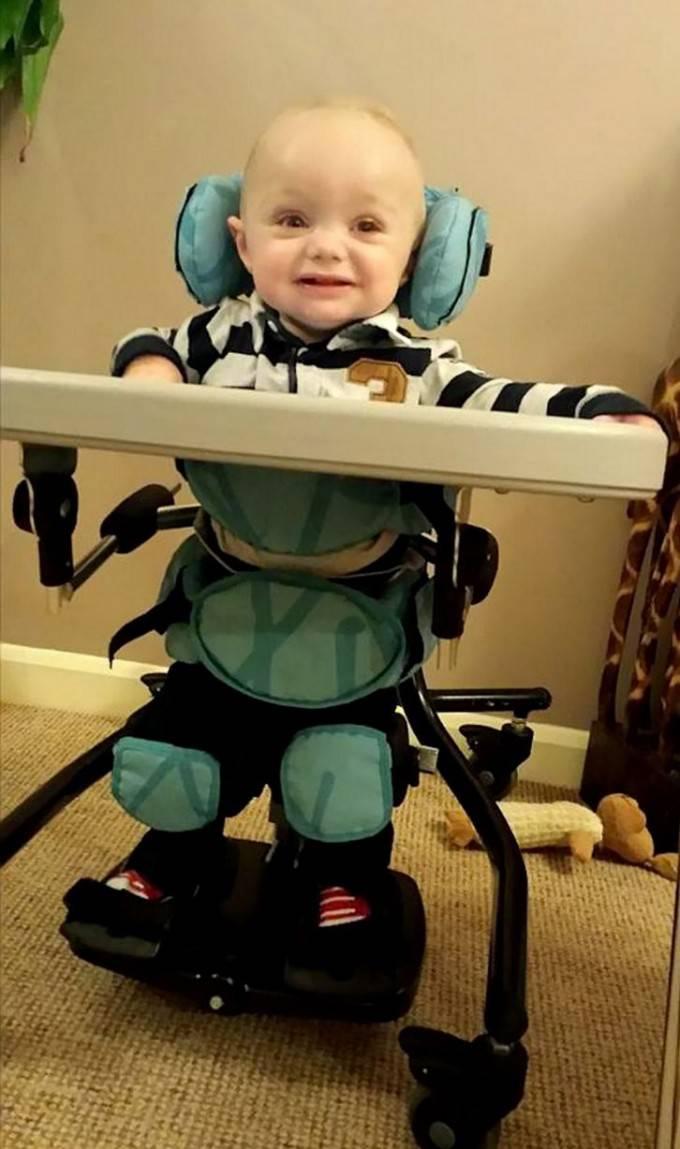 -Cody-Stanier sul seggiolone